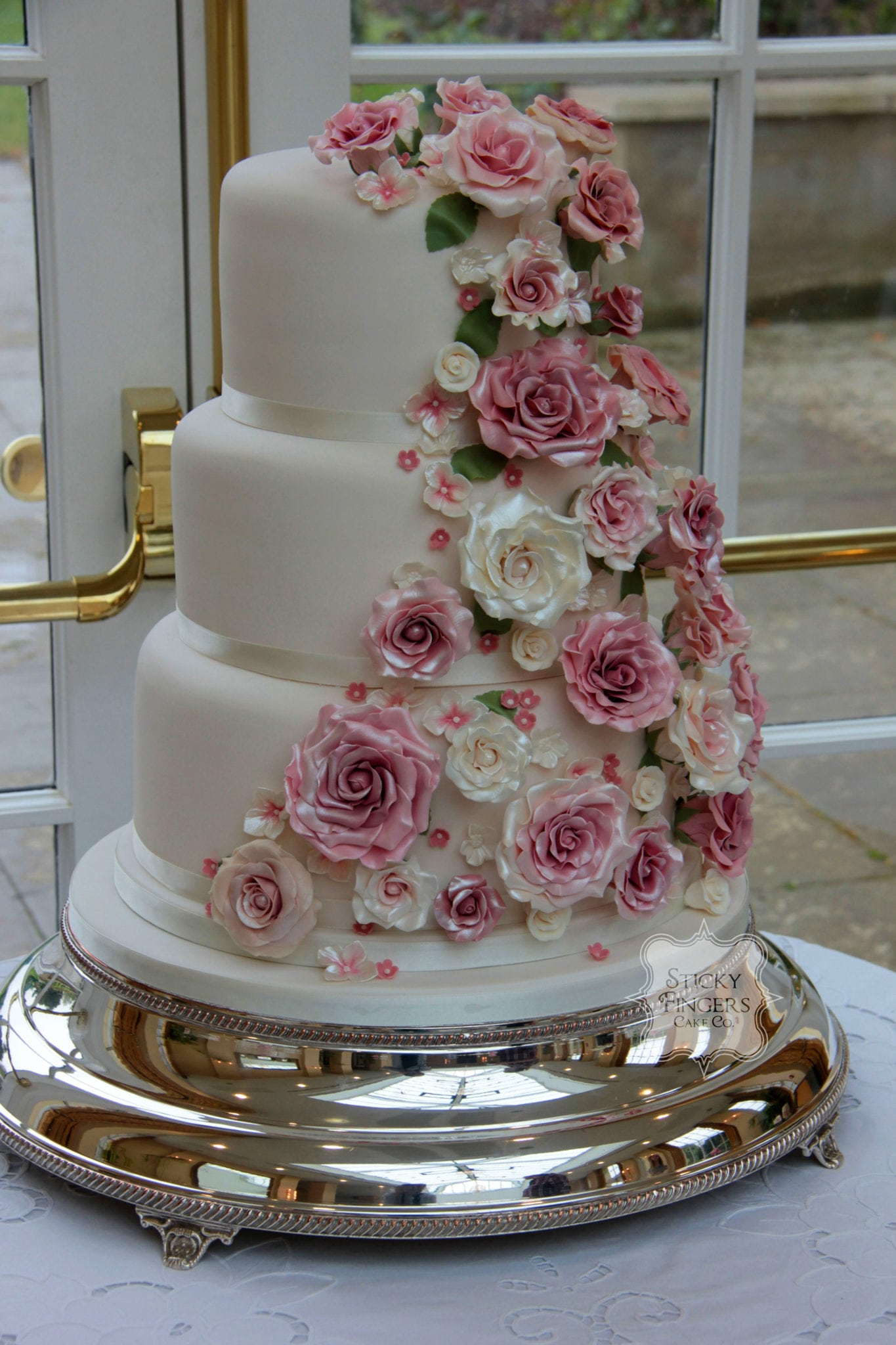 The Bespoke Wedding Cake…