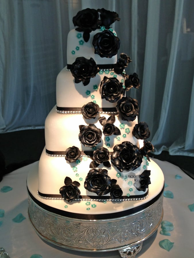 Wedding Cake Witham – Braxted Park, 25th July 2013