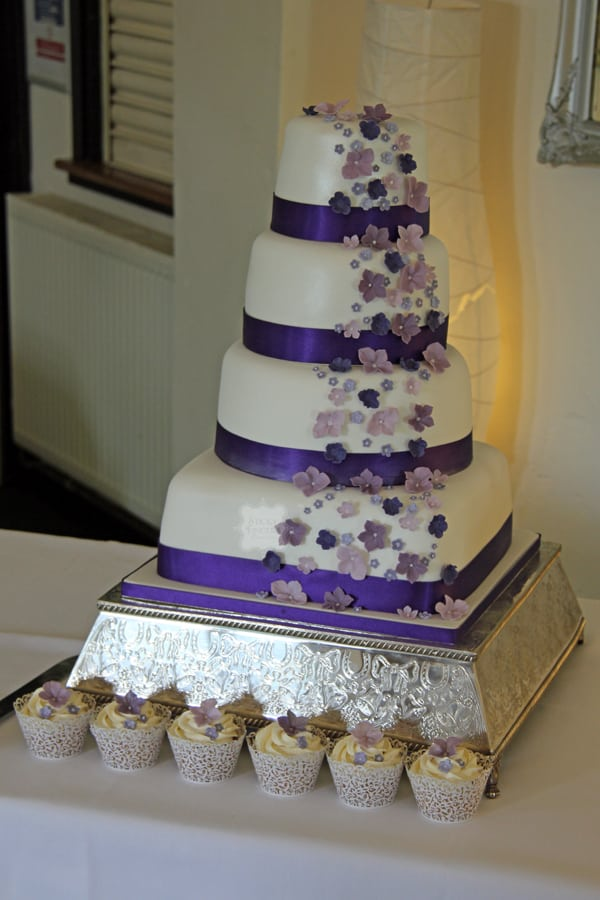 Wedding Cake Witham – Forrester Park 30th August 2014
