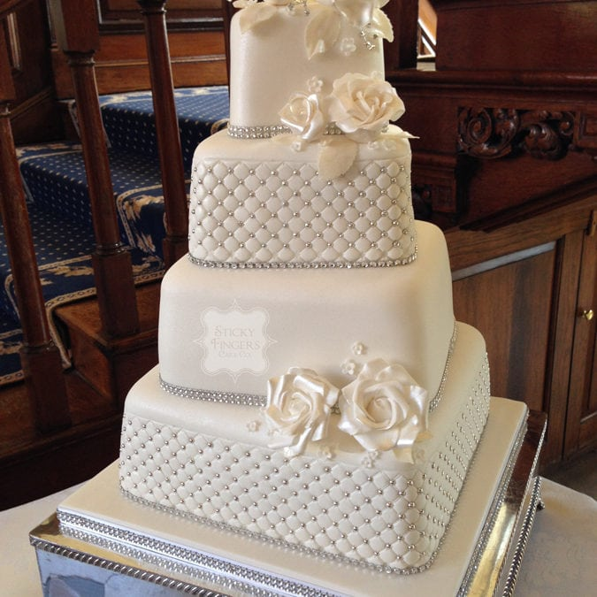 Wedding Cake Braintree – Gosfield Hall, 4th November 2014