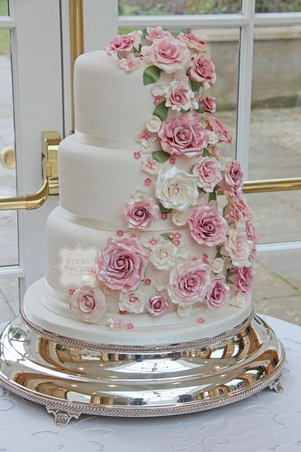 Wedding Cake Rochford – The Lawn 20th April 2014