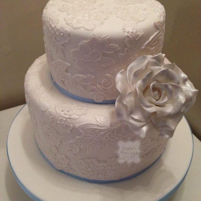Wedding Cake Leigh on Sea – Sandbank Restaurant, 8th August 2015