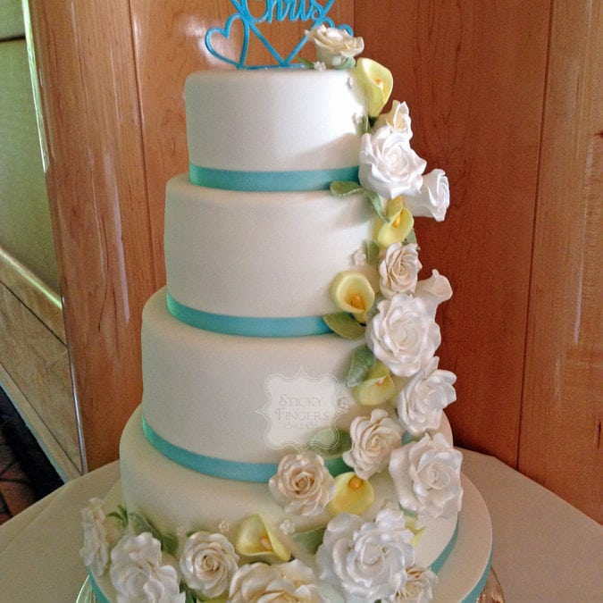 Wedding Cake Brentwood – Friern Manor, 1st August 2015