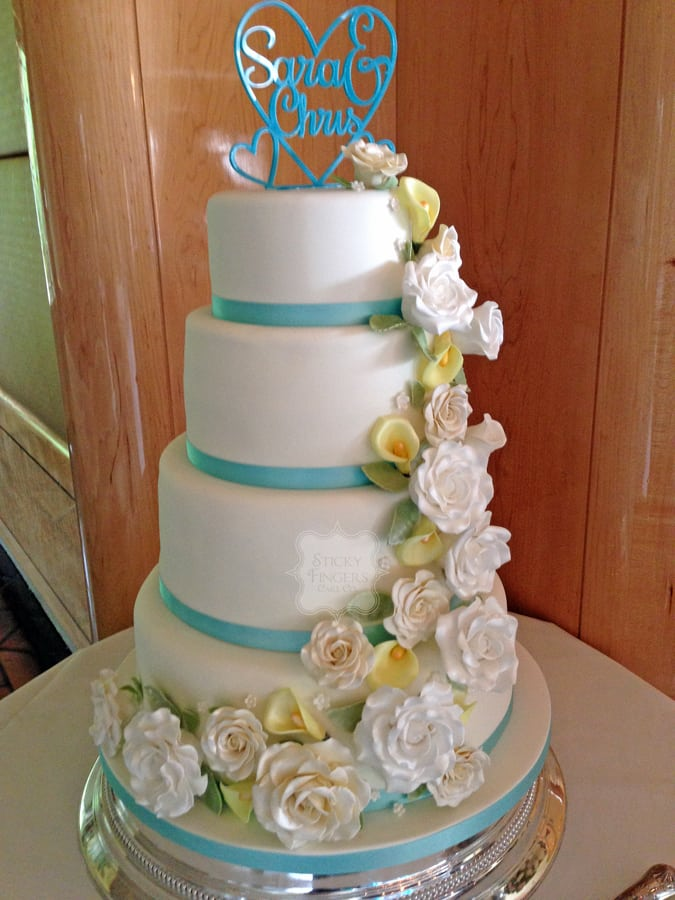 Wedding Cake Brentwood – Friern Manor, 1st August 2015
