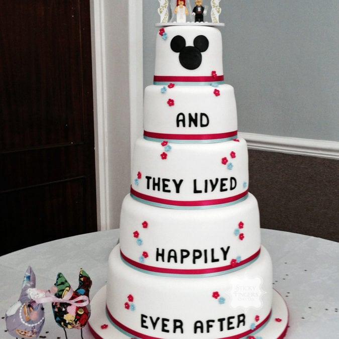Wedding cake Romford – Stapleford Abbotts Village Hall, 6th June 2015