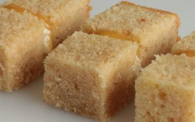 Gorgeously Yummy White Chocolate Sponge!