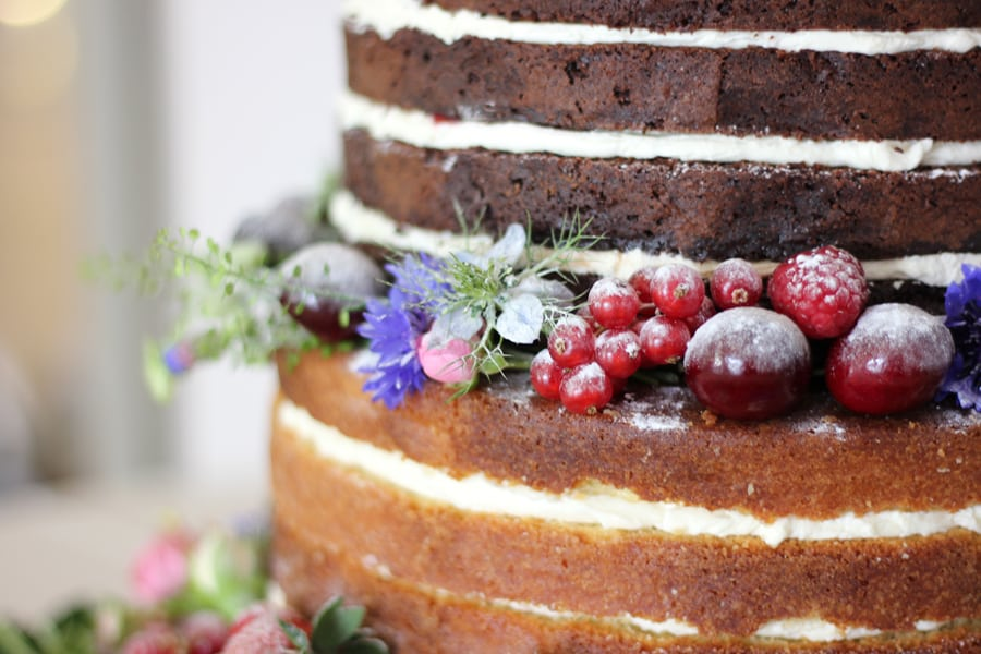 Don't be scared of The Naked Wedding Cake…