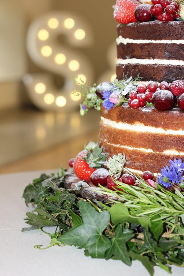 Naked Wedding Cake Essex