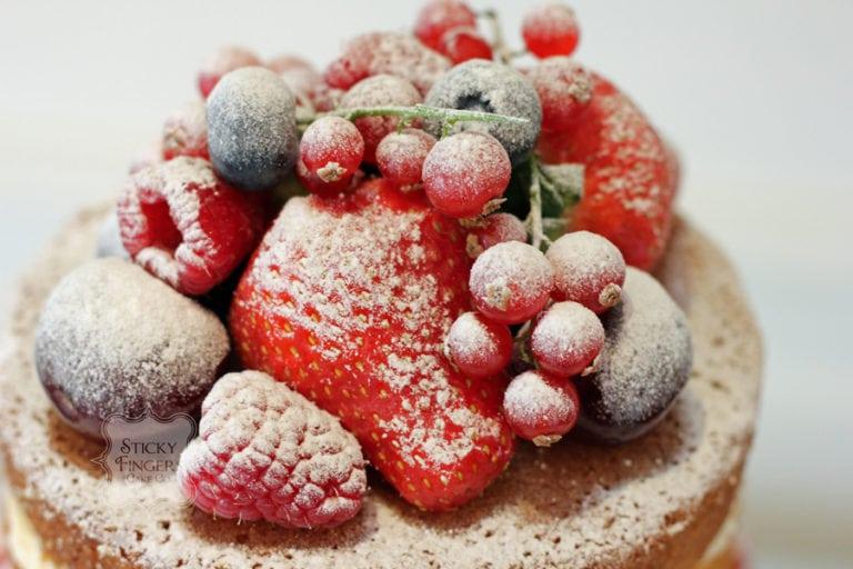 Naked Wedding Cake Essex – Orsett Hall