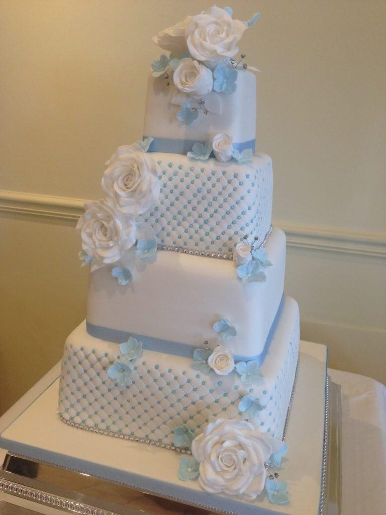 Wedding Cake Essex – Top Meadow Golf Club, Upminster. Saturday 20th August 2016