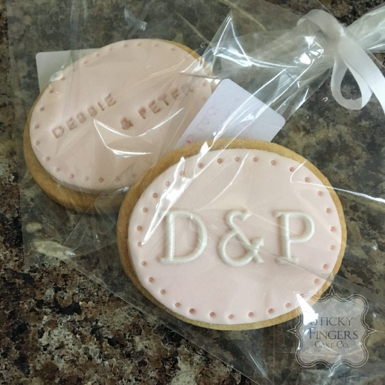 Essex Wedding Cookie Favours – Yum!