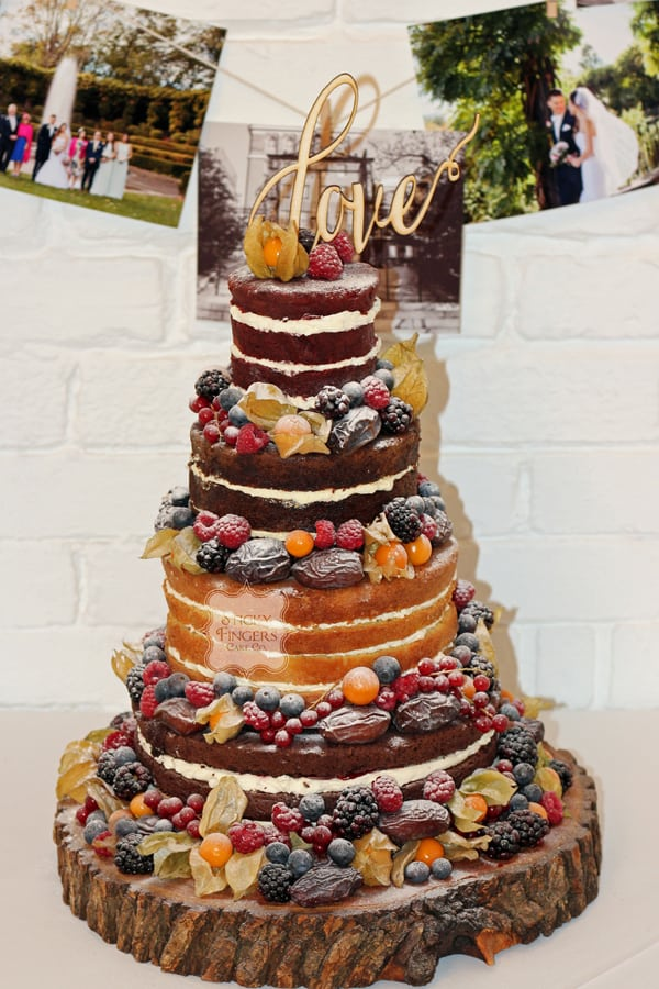 Naked Wedding Cake Rayleigh, Essex – The Old Parish Rooms, 5th November 2016