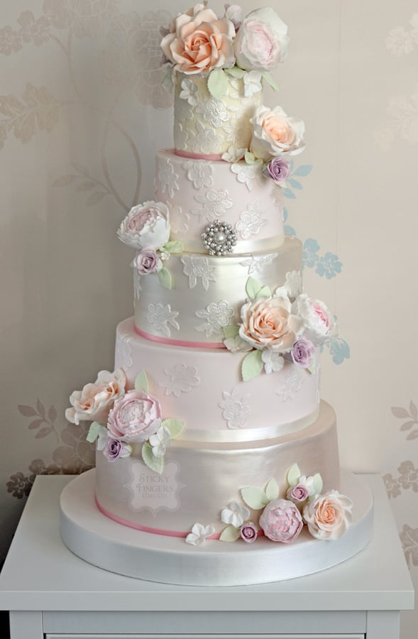 "Meet our new wedding cake ""Victoria""…"