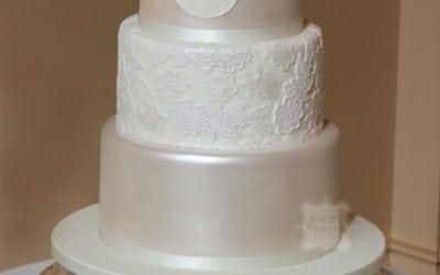First Wedding Cake of 2017!