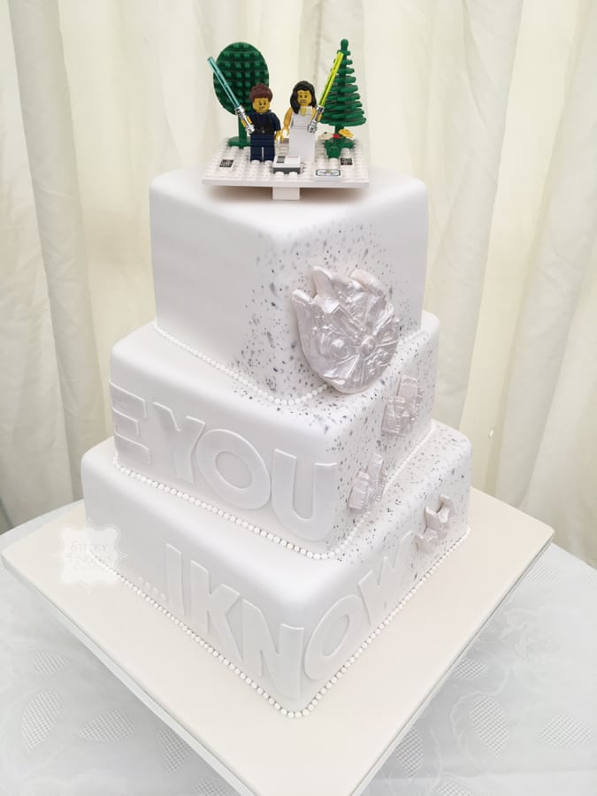 star wars wedding cake wars inspired wedding cake rochford essex sutton 7677