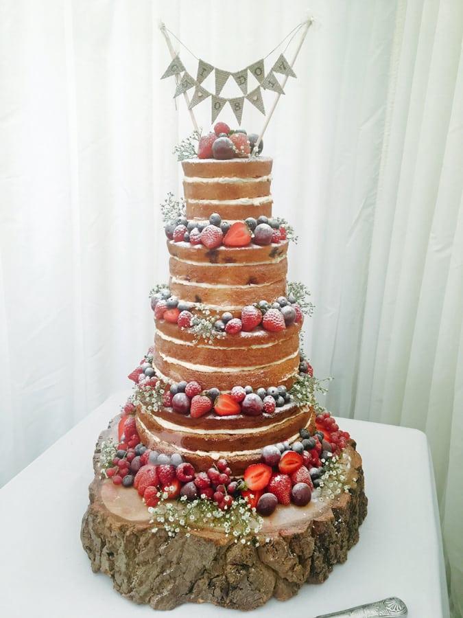 3 Tier Iced wedding Cake, Rochford - Apton Hall, 8th