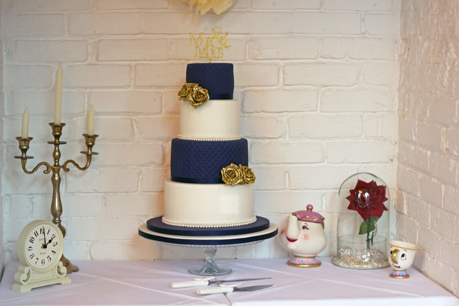 Iced Wedding Cake, Rayleigh – Old Parish Rooms 23rd October