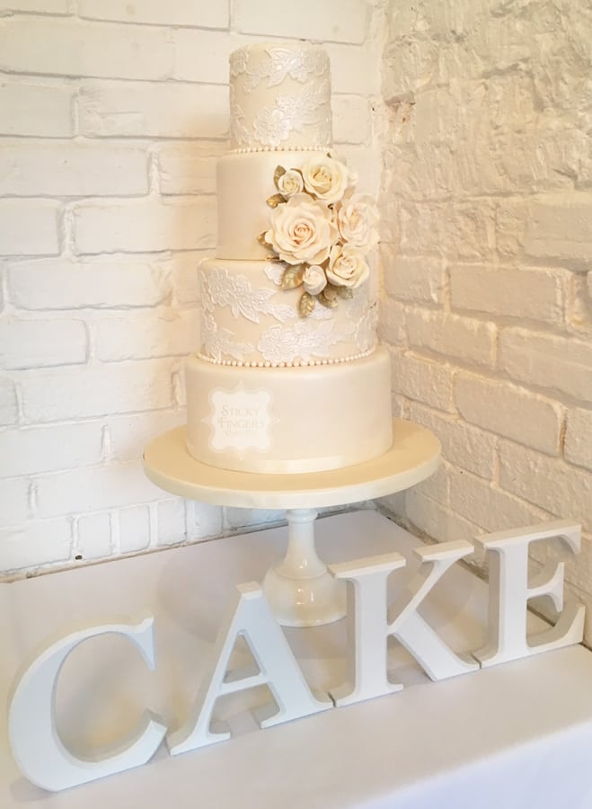 Wedding Cake Essex Sticky Fingers Cake Co