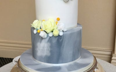 Lemon and Grey Themed Wedding (with a Subtle Nod to the Groom's Football Team!)