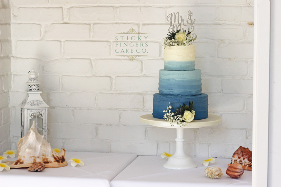 3 Tier Buttercream Wedding Cake, Rayleigh, 28th September 2018