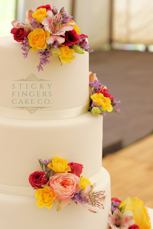 3 Tier Wedding Cake – Benfleet, Essex, 22nd June 2019