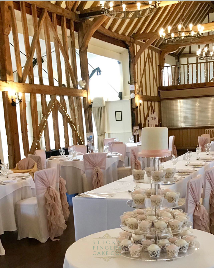 Wedding Cupcake Tower, Chelmsford – Channels, Channels Estate, 28th August 2019