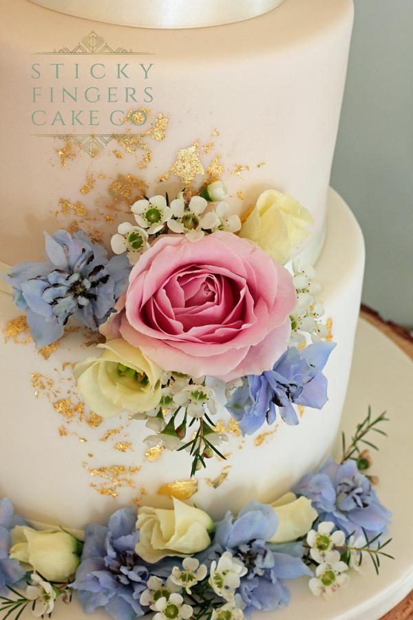 3 Tier Wedding Cake - The Lawn, Rochford, 27th April 2019