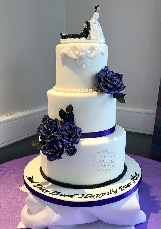 3 Tier Wedding Cake, Basildon – The Holiday Inn, 24th November 2019